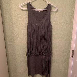 Gray String Dress